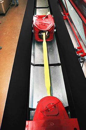 banc de traction horizontal 120 tonnes